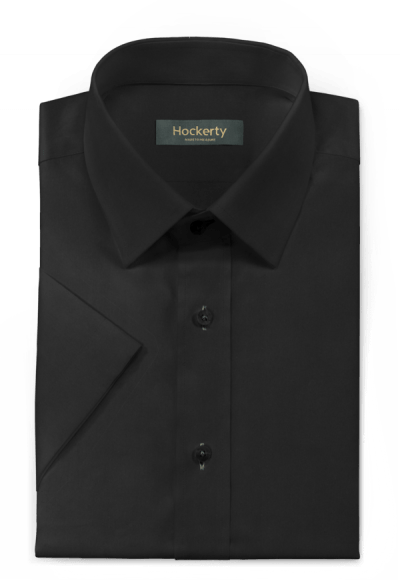 Black short sleeved 100% cotton Shirt