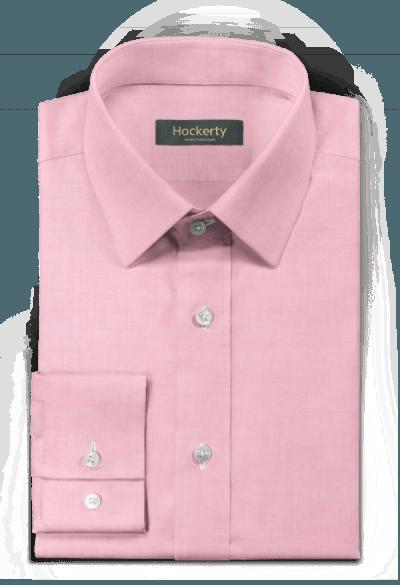 Camicia rosa 100% cotone