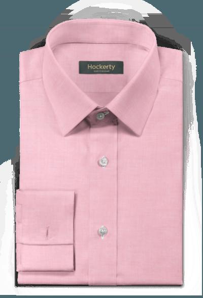Pinkes Hemd mit Umschlag & aus Baumwolle