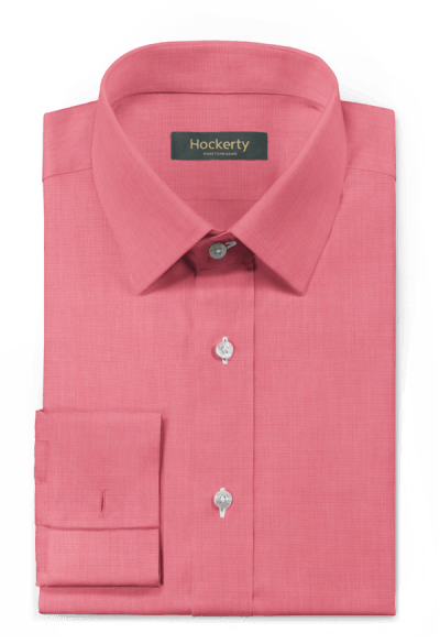 Camicia gemelli rosa 100% cotone