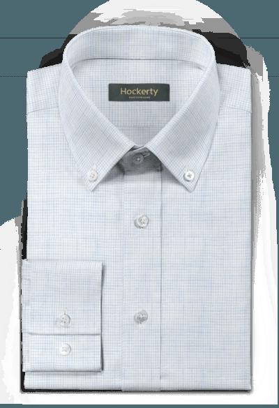 Camicia blu di lino