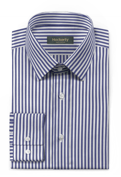 Blue striped 100% cotton Shirt