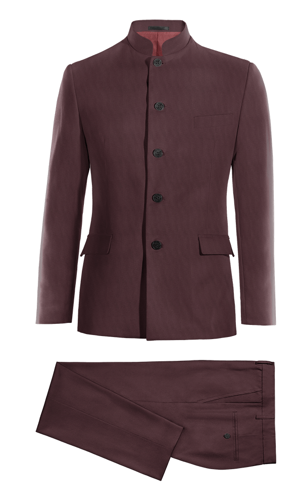 Red Mao wool Suit