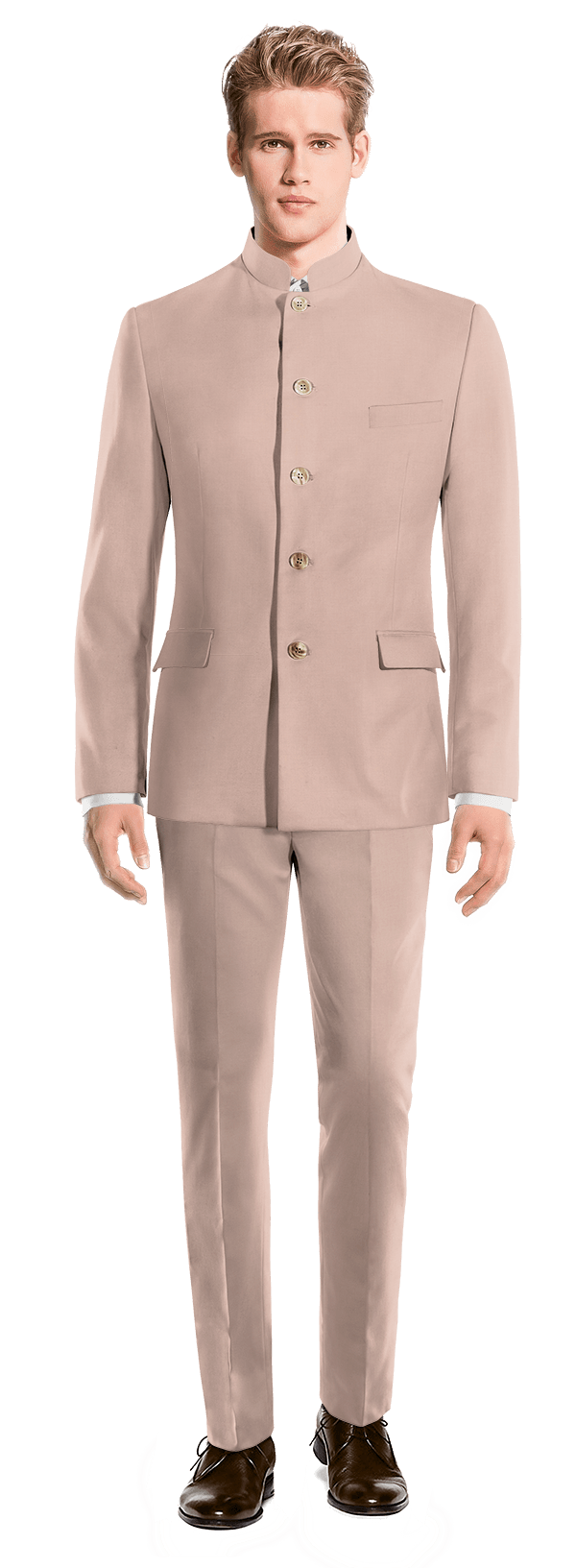 Pink Mao wool Suit
