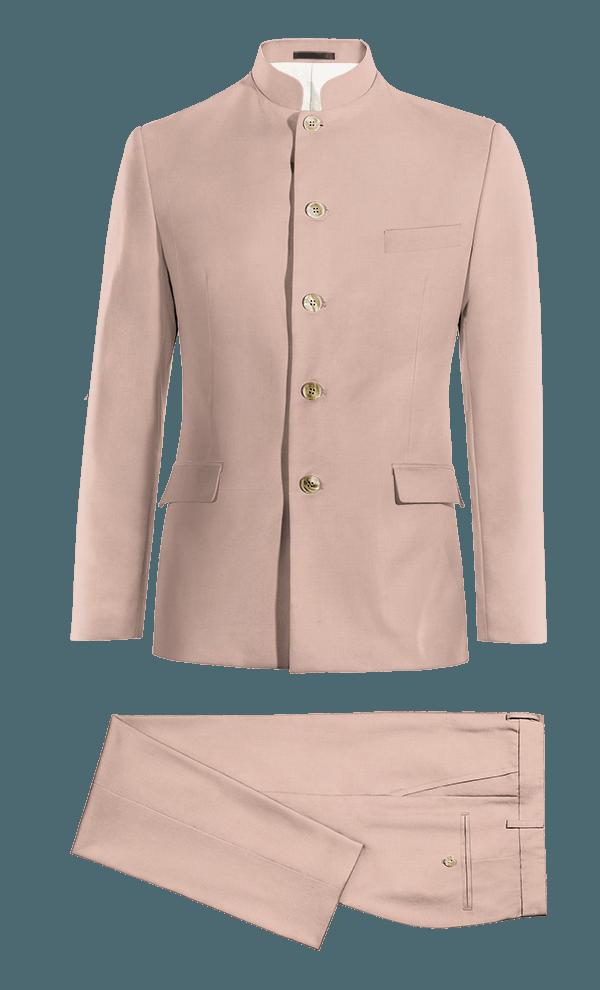Pink Mao wool Suit