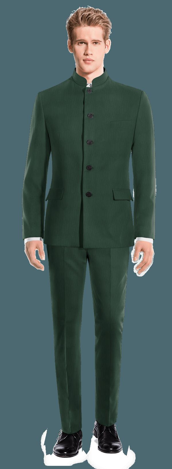 Abito Mao verde di Lana