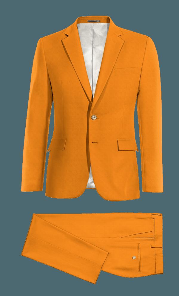 Costume orange en Coton