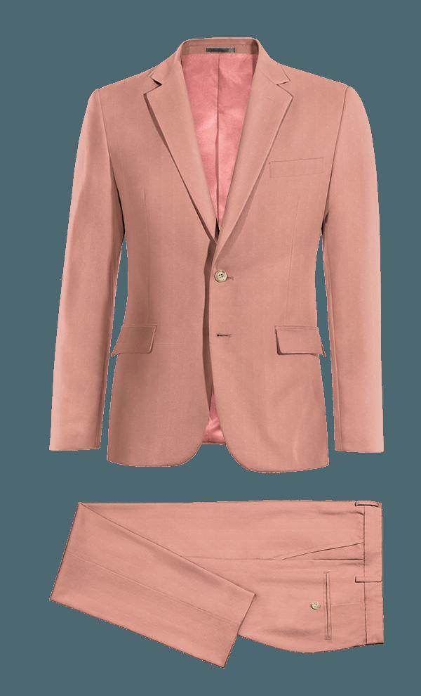 Abito rosa di Cotone