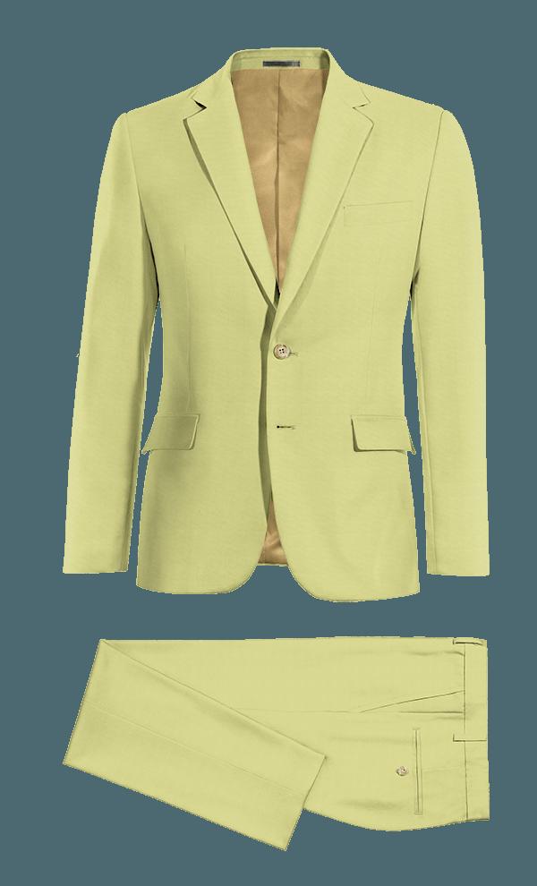 Costume vert en Coton