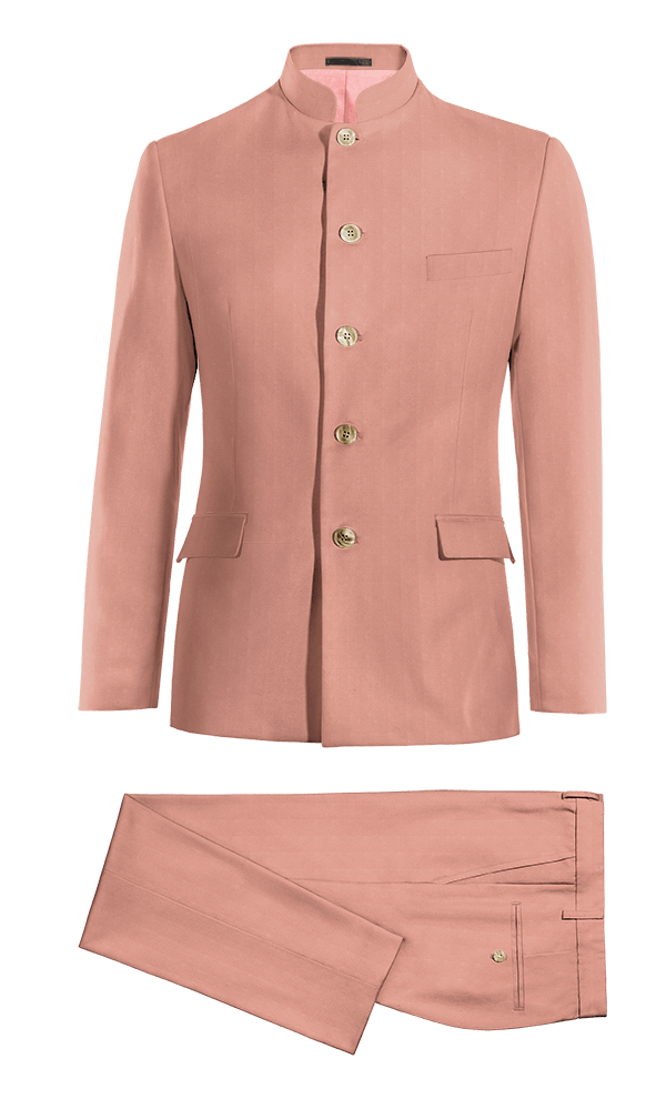 Pink Mao cotton Suit
