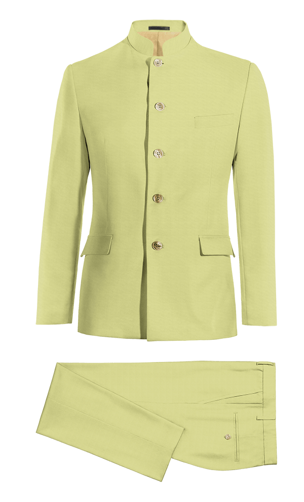 Green Mao cotton Suit