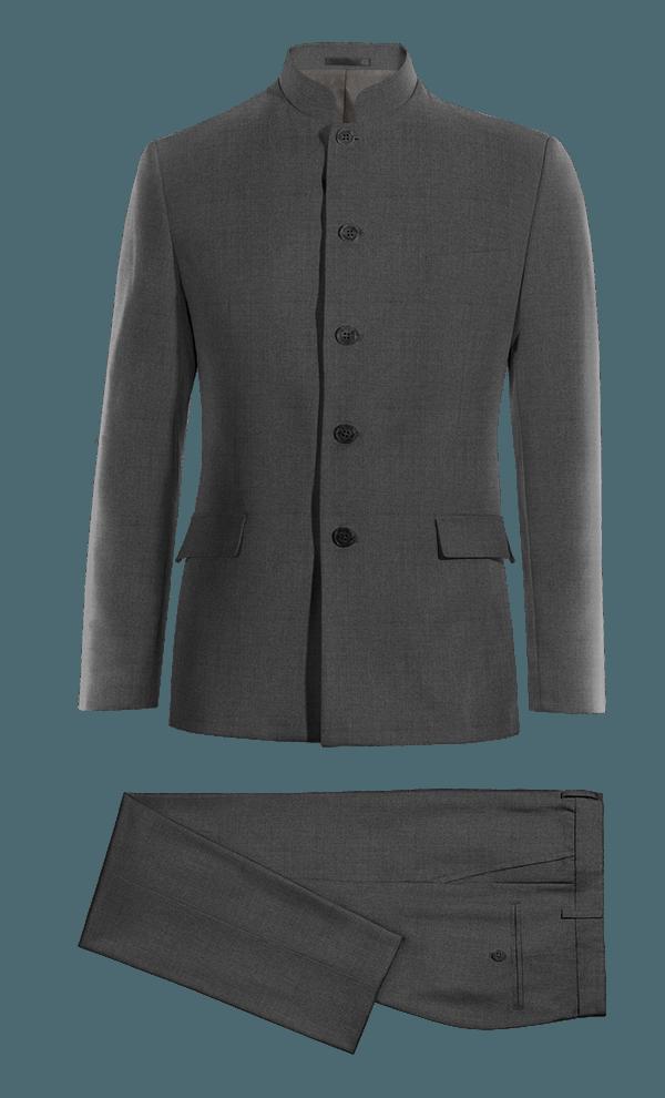 Grey Mao Merino wool Suit