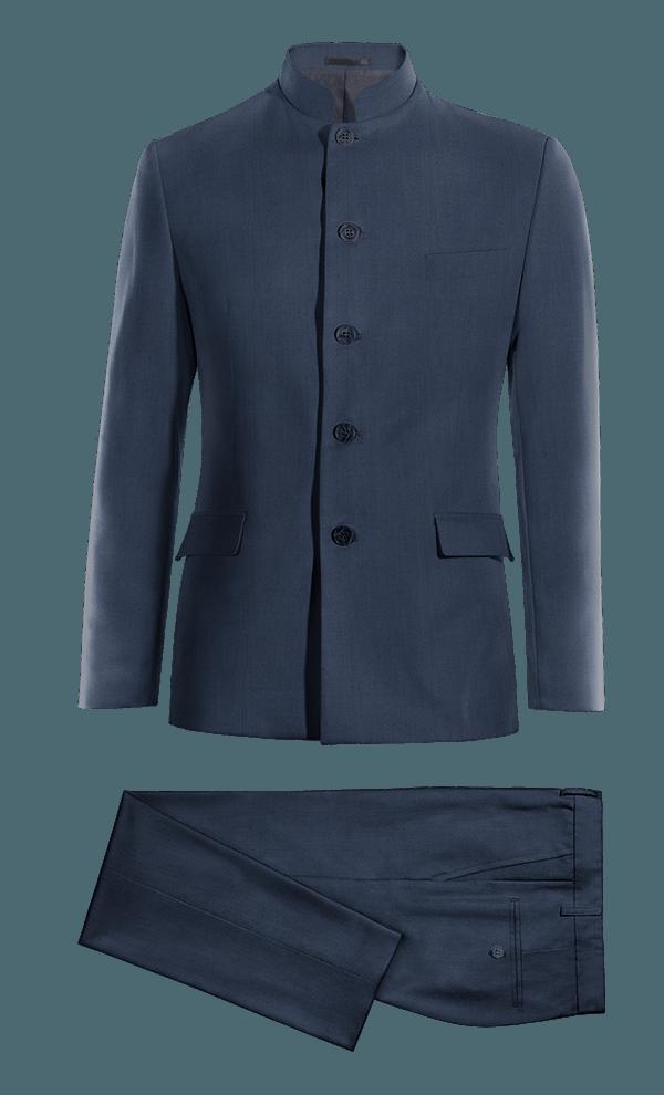 Blue Mao 100% Wool Suit