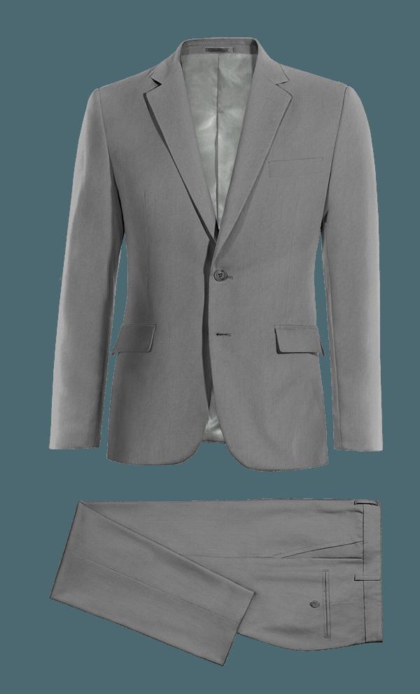 Costume gris en Laine