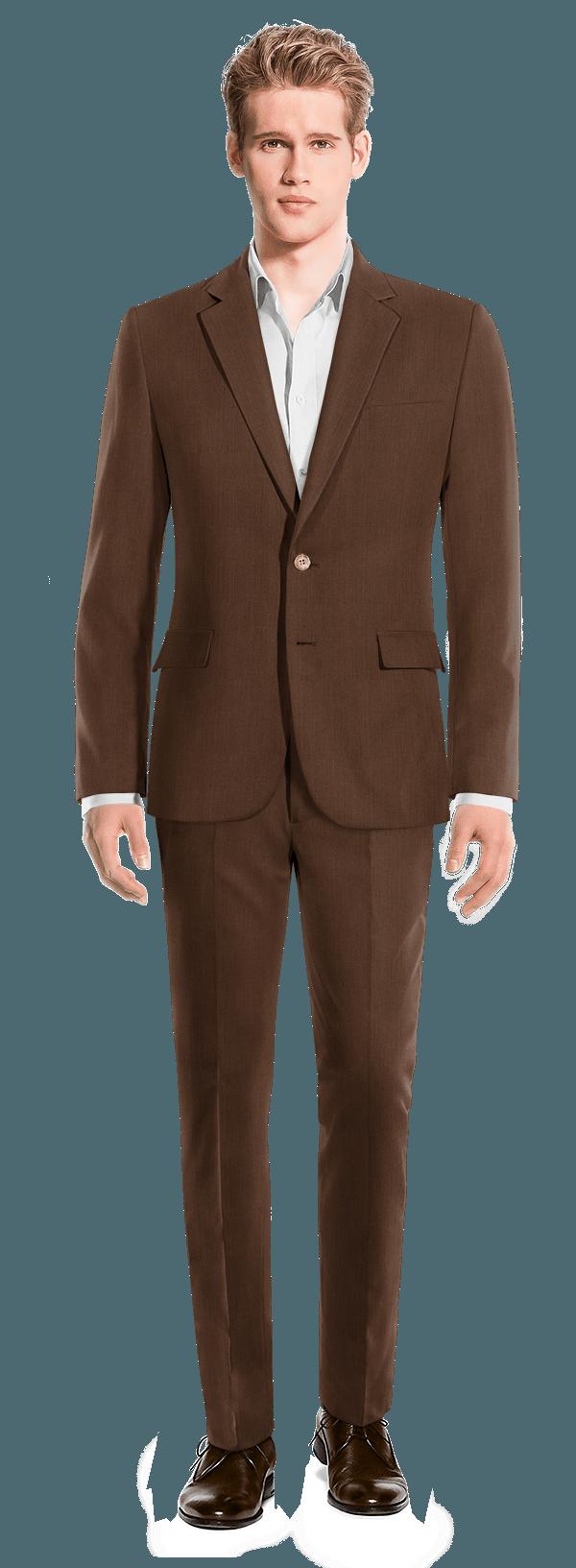brauner anzug aus leinen 299 rumley hockerty. Black Bedroom Furniture Sets. Home Design Ideas