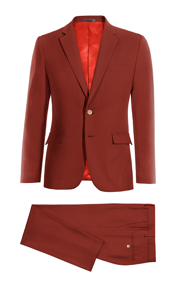 Red cotton Suit