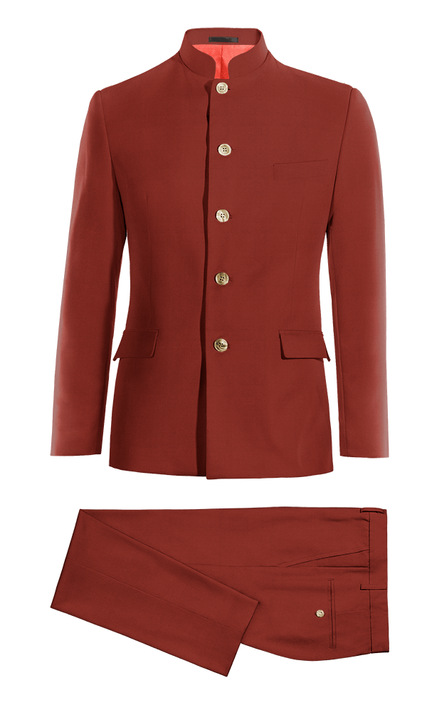 Red Mao cotton Suit