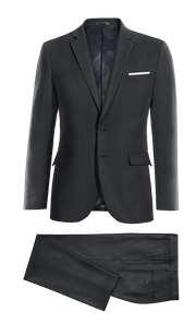 Blue Merino wool Suit-without_model