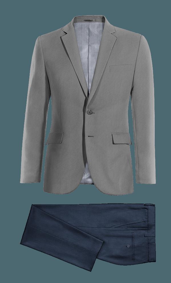 Grey wool Suit