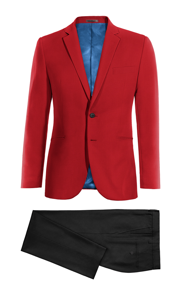 Costume rouge en Laine