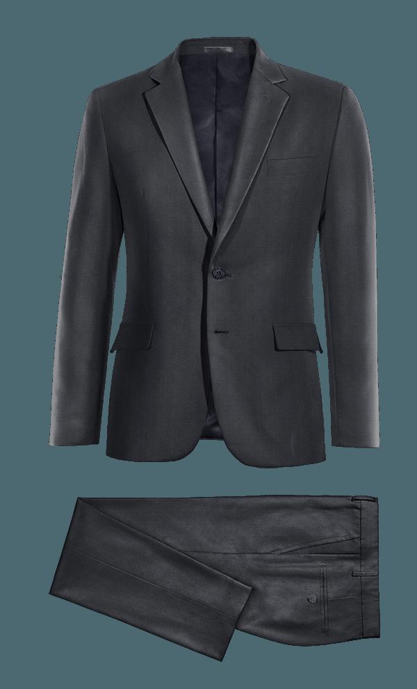 Costume bleu en Polyester