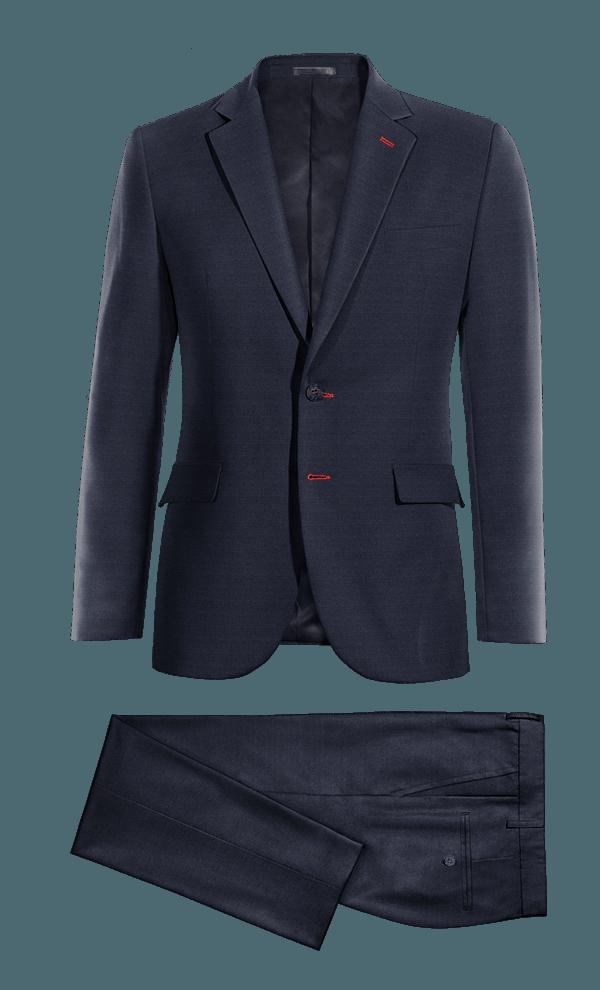 Blue Merino wool Suit