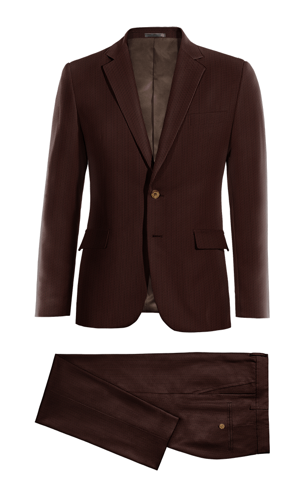 Brown corduroy Suit