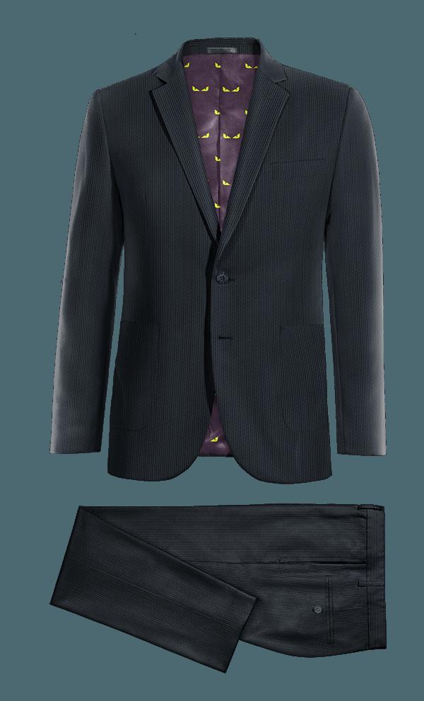 Blue corduroy Suit