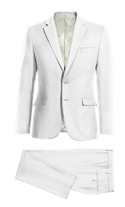 White linen Suit-without_model