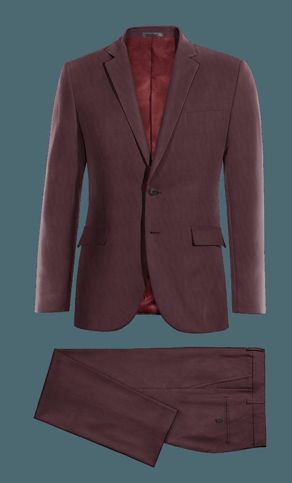 Costume rouge en Laine