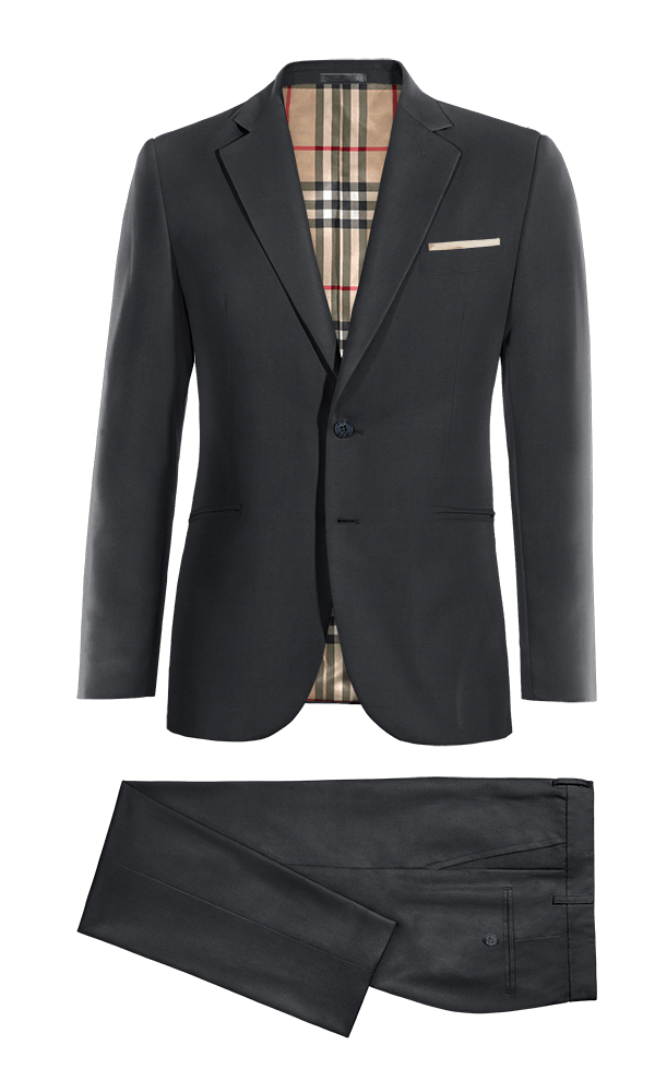 Blue Merino wool Suit