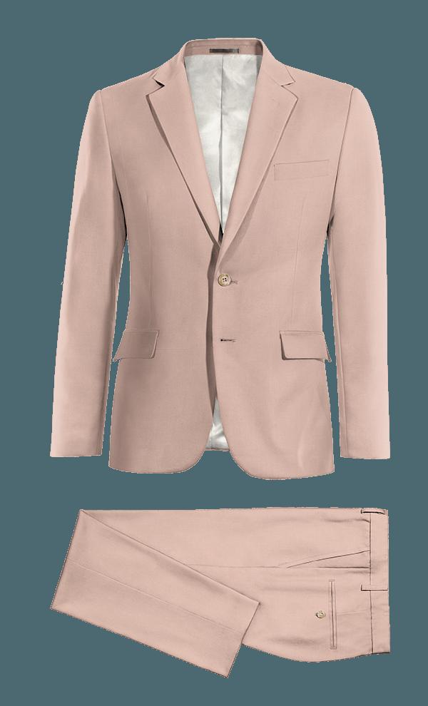 Costume rose en Laine