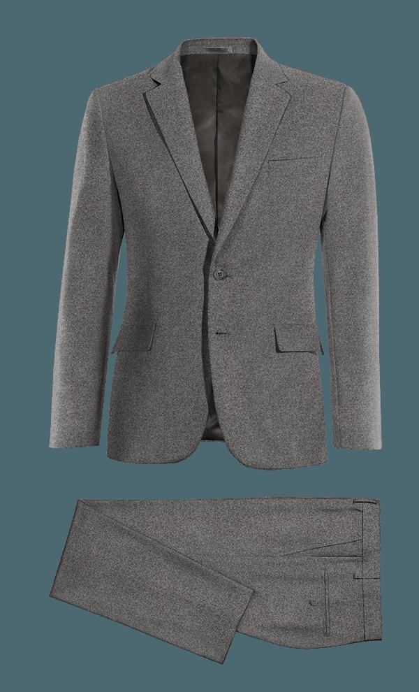 Costume gris en Coton