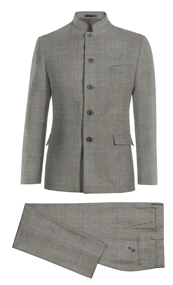 Grey Mao 100% Wool Suit
