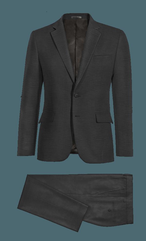 Costume noir 100% laine