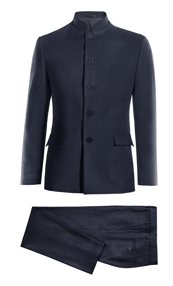 Blue Mao Merino wool Suit
