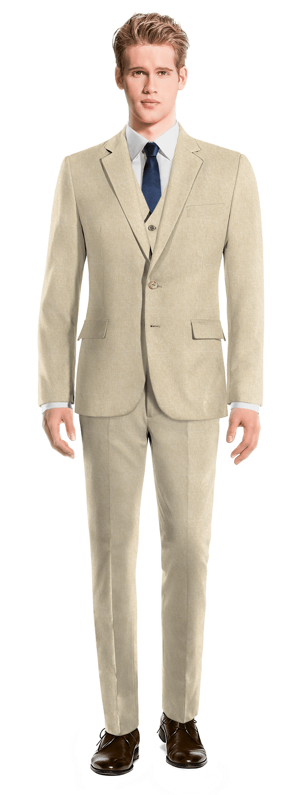 Perry Ellis 3-piece suit separates for men are the favorite pick for guys of all levels of sophistication. Take your choice of iridescent, chambray, check, textured, khaki, heathered, linen, jacquard or solid.