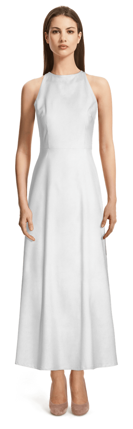 Robe Longue Blanche 99 Sumissura
