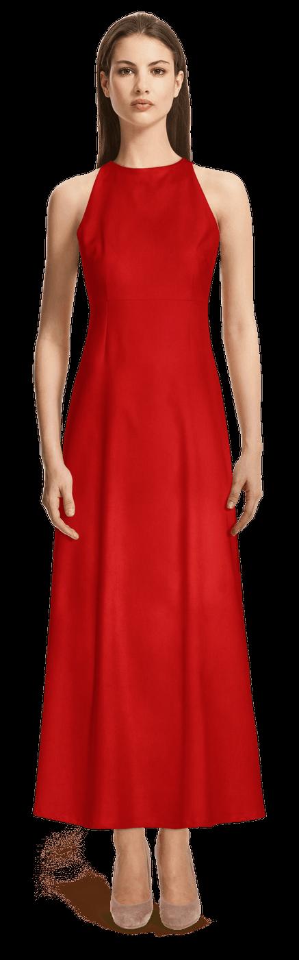 Langes hochzeit rotes kleid Rotes langes