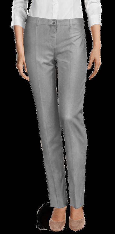 nuevo concepto 453cb 8ca30 Pantalón Plateado brillantes