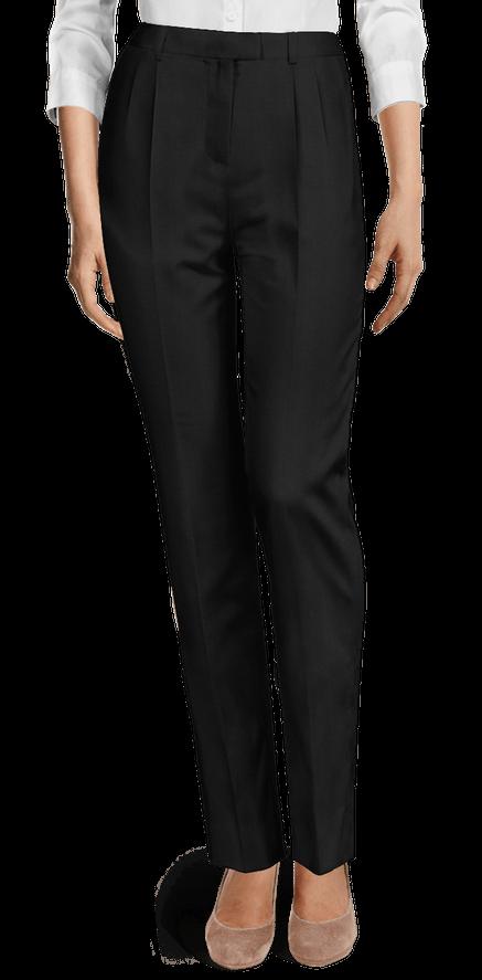 Pantalones Mujer Negros Liso Sumissura