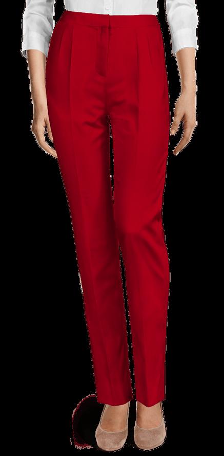 Pantalones Mujer Rojos Sumissura