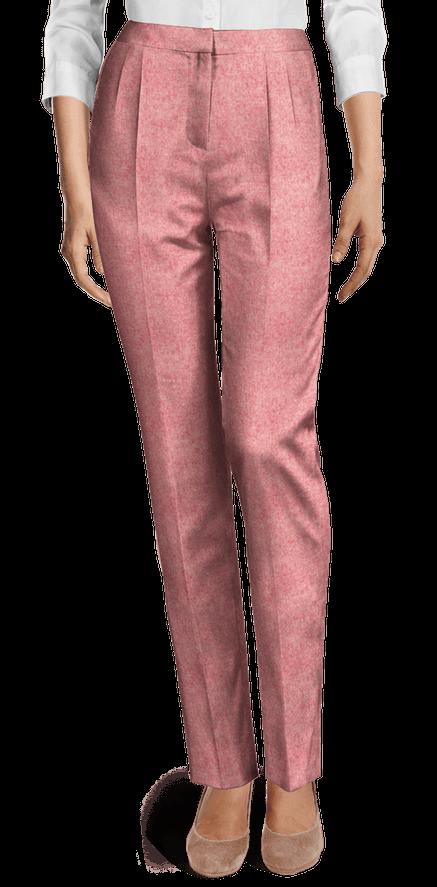 Pantalon De Vestir Mujer Tiro Alto Tienda Online De Zapatos Ropa Y Complementos De Marca