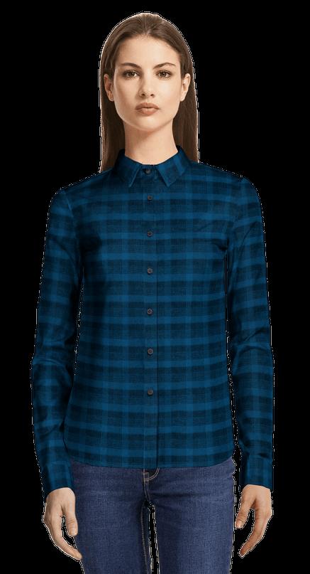 cheap for discount f7ec7 53a65 Camicie Donna di Flanella | Sumissura