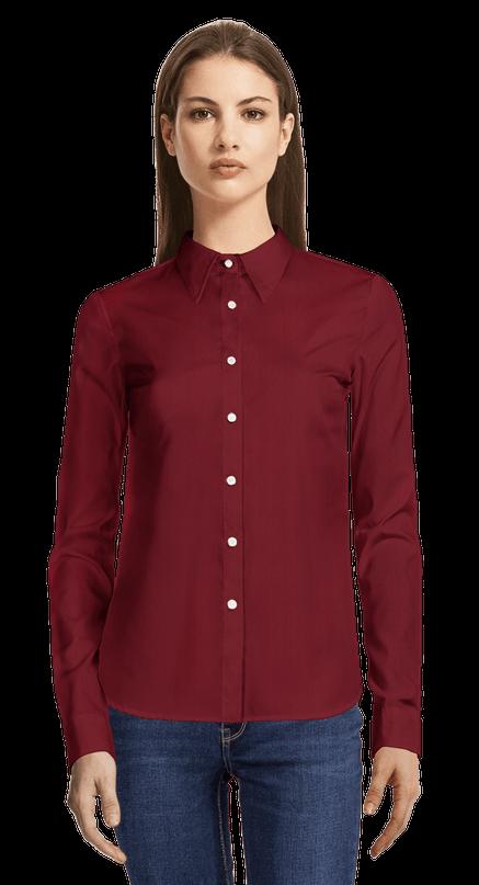 new style 47722 06edd Camicie da Donna Rosse | Sumissura