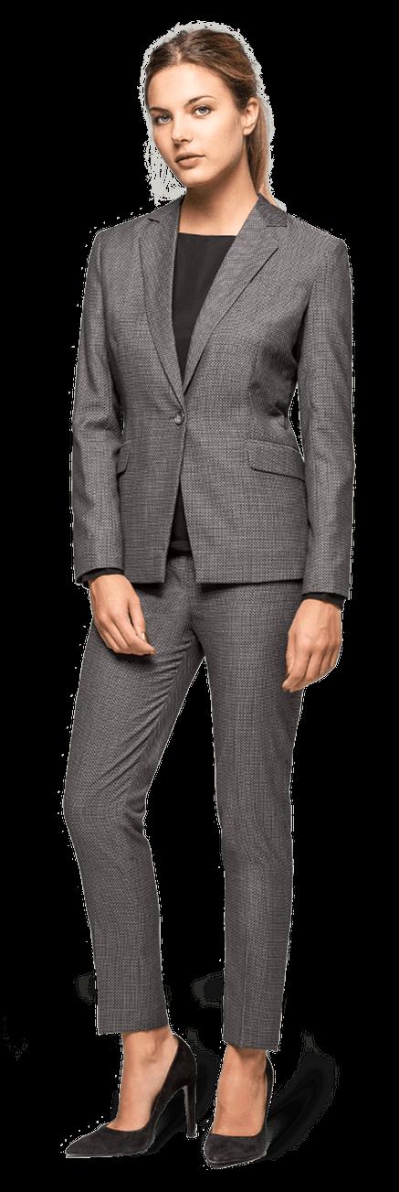 a8e971aca8686f Tailleur pantalon gris foncé