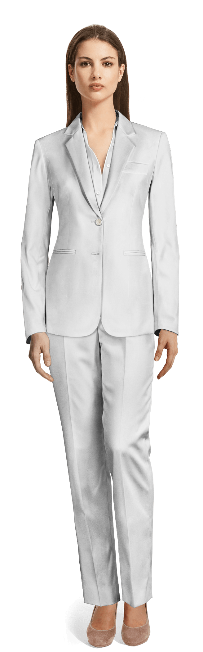 Women S White Suits Made To Measure Sumissura