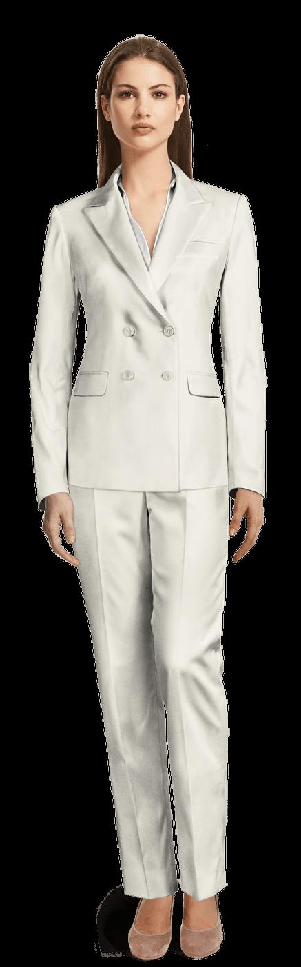 weißer anzug damen