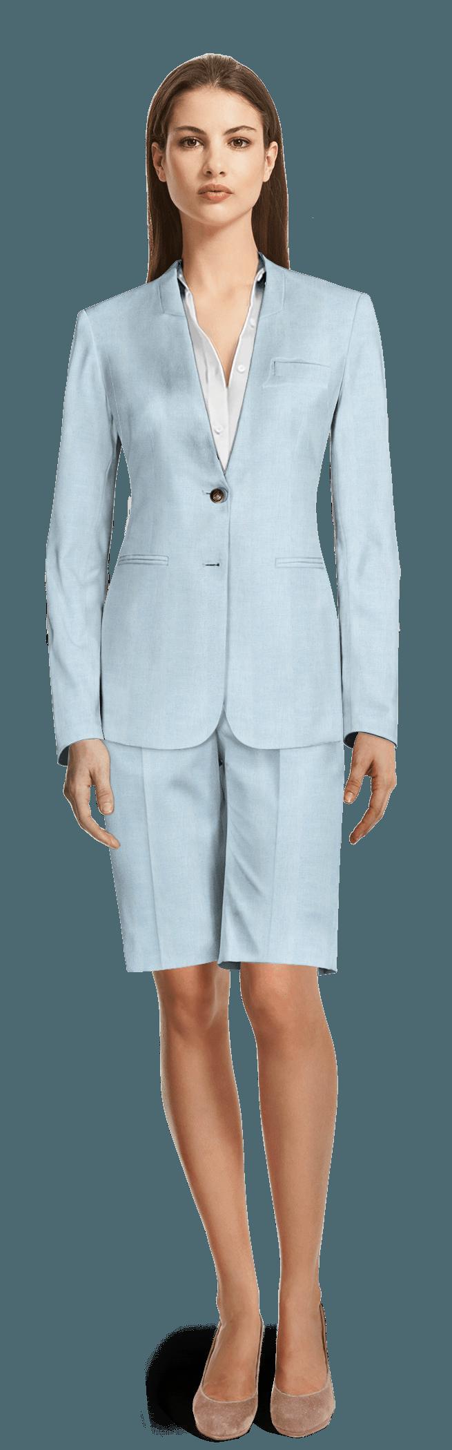 Blue Pant Suit Womens - Go Suits