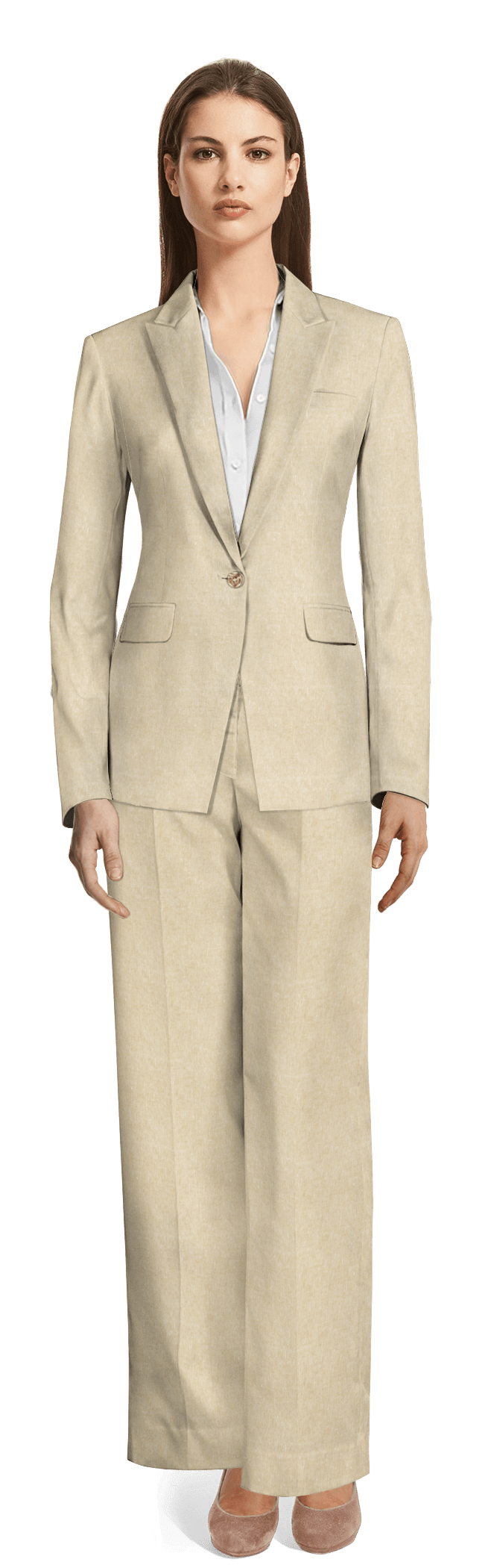 Women S Linen Suits Made To Measure Sumissura